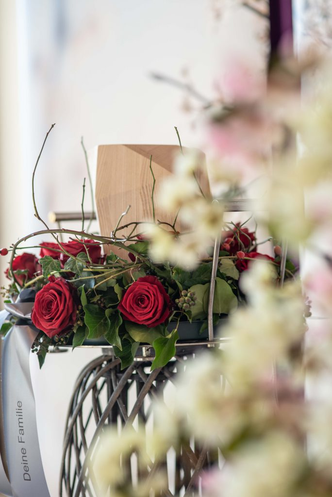 Beerdigung Abschied nehmen